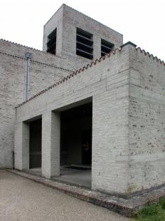 Rozšíření kláštera svatého Benedikta - foto: Petr Šmídek, 2003