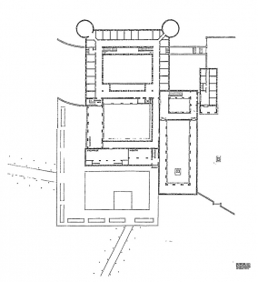 Rozšíření kláštera svatého Benedikta - Půdorys kláštera