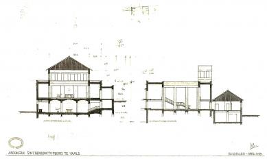 Rozšíření kláštera svatého Benedikta - Řezy