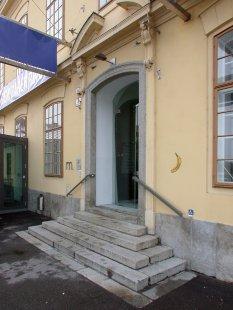 Umělecká síň v Kremži - foto: Petr Šmídek, 2004