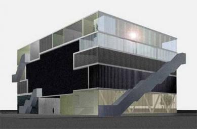 De Effenaar Pop Centre - Vizualizace - foto: MVRDV