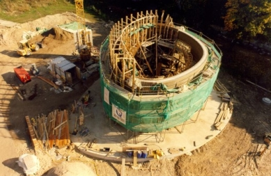 Kaple smíření - Stavba nové kaple