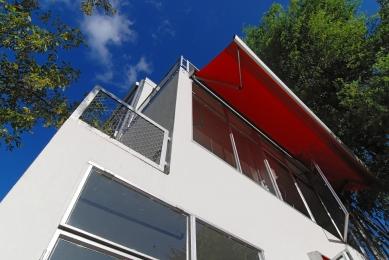 Řadové domy Erasmuslaan - foto: Petr Šmídek, 2009