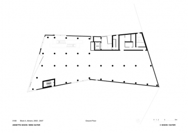 Smaragd - Půdorys přízemí - foto: Gigon/Guyer Architekten