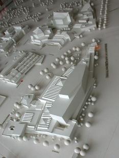 Staatsbibliothek - Model knihovny - foto: Petr Šmídek, 2001