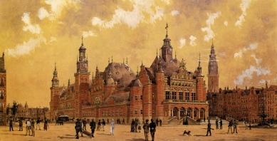 The Beurs van Berlage - Soutěžní návrh