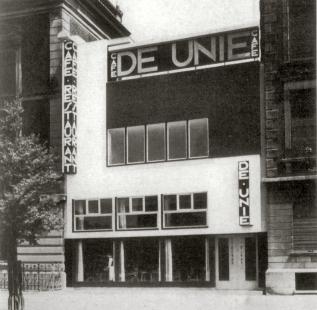 Café De Unie - Historický snímek