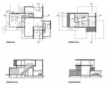 Villa Welpeloo - Plány - foto: 2012Architecten