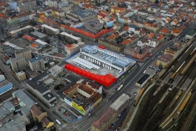 Dopravně obchodní centrum České Budějovice - foto: ČSAD Jihotrans