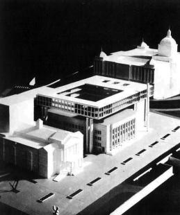 Budova Národního shromáždění - Model