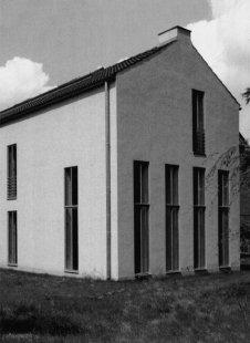 House in Roetgen near Aachen - Pohled ze zahrady - foto: Vladimír Špaček