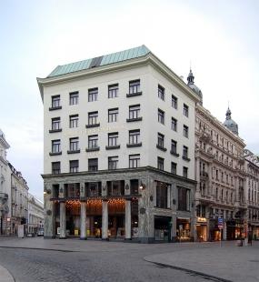 Obchodní dům Goldman & Salatsch - foto: Petr Šmídek, 2008