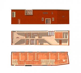 Dvougenerační rodinný dům Karlovy Vary - 3D - pohled, řez a půdorys - foto: © my architekti