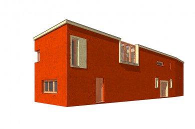 Dvougenerační rodinný dům Karlovy Vary - 3D model - foto: © my architekti
