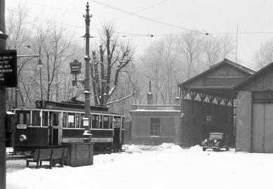 Reconstruction d.n.2 in Stromovka - Fotografie z roku 1936 - foto: archiv autorů