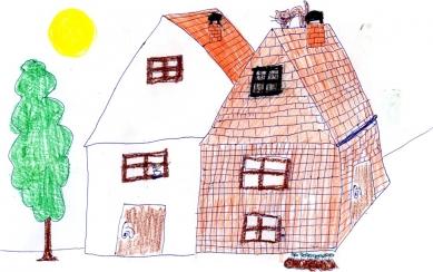 Rodinný dům ve Veliši - Skica - foto: Dominika Krausová
