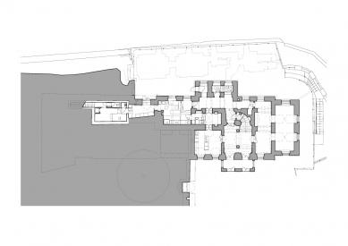 Rekonstrukce Richterovy vily - 1. NP