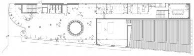 Information Center of the Technical University in Liberec - Půdorys přízemí - foto: architektonická kancelář Fakulty umění a architektury TU v Liberci