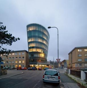 Information Center of the Technical University in Liberec - foto: Petr Šmídek, 2009
