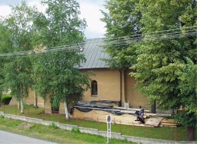 Římskokatolický kostel Zvěstování Pána - Původní stav - foto: Tomáš Bujna