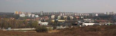 Přestavba kulturního a obchodního centra Obzor - Varianta B - panorama - foto: Rudiš-Rudiš architektonická kancelář