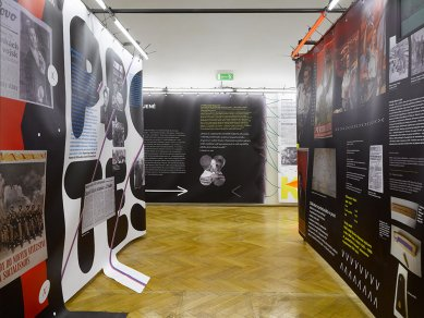 Instalace výstavy Žižkov 20 - foto: Filip Šlapal