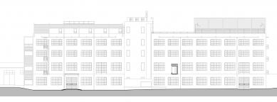 Přestavba tovární budovy AF BKK - Pohled - foto: caraa