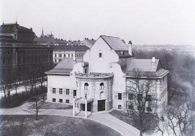 Rekonstrukce Domu umění města Brna - Podoba DU na začátku 20. století - foto: archiv autorů