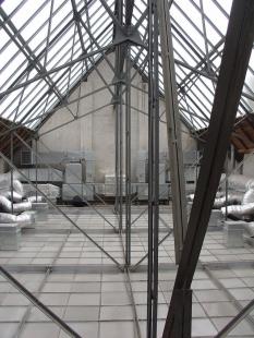 Rekonstrukce Domu umění města Brna - Původní skleněná střecha - foto: archiv autorů
