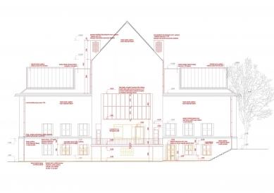 Rekonstrukce Domu umění města Brna - Severní fasáda