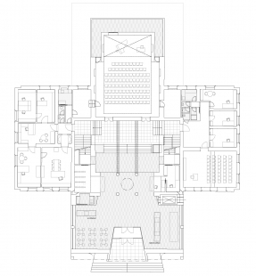 Rekonstrukce Domu umění města Brna - 1NP
