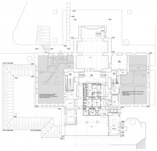 Rekonstrukce Domu umění města Brna - 1PP