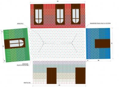 Obnova obřadní síně Nové radnice Uherské Hradiště - Výmalba - foto: knesl + kynčl architekti