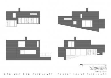 Rodinný dům Zlín - Lazy - Pohledy - foto: Pavel Míček Architects