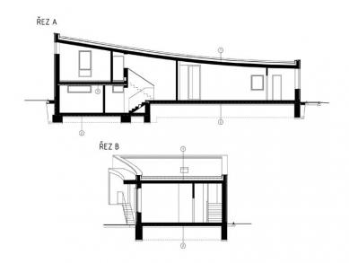 Rodinný dům v Kroměříži - Řezy - foto: New Work