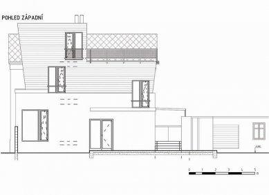 Rodinný dům v Lysé nad Labem - Pohled - foto: New Work