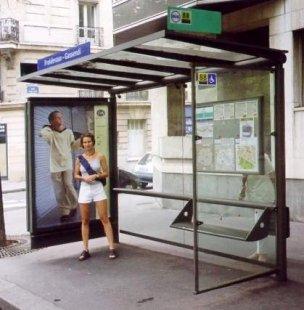 Les Abribus - foto: Jan Kratochvíl, 1998