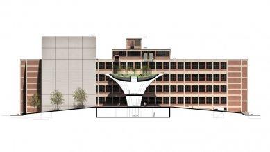 Krajské kulturní a vzdělávací centrum ve Zlíně - Řez B