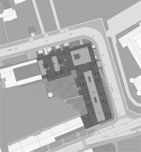 Rezidence Sacre Coeur - Situace - foto: 4A architekti