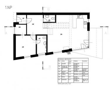 Rodinný dům v Bílovicích nad Svitavou - 1NP - foto: New Work