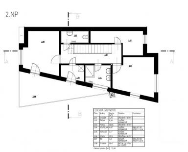 Rodinný dům v Bílovicích nad Svitavou - 2NP - foto: New Work