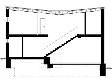 Rodinný dům v Bílovicích nad Svitavou - Řez - foto: New Work