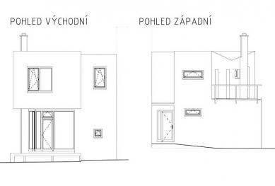 Rodinný dům v Bílovicích nad Svitavou - Pohledy - foto: New Work