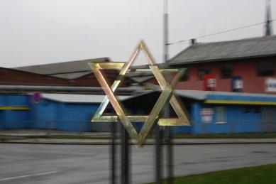 Památník transportu Židů z Ostravy do Niska