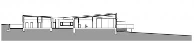 Mateřská škola Moravany - Řez - foto: ATX Architekti