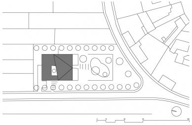 Mateřská škola Moravany - Situace - foto: ATX Architekti
