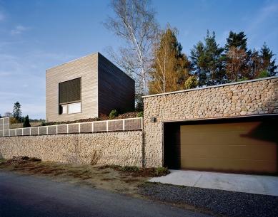 Letní dům s vinotékou - foto: Tomáš Souček