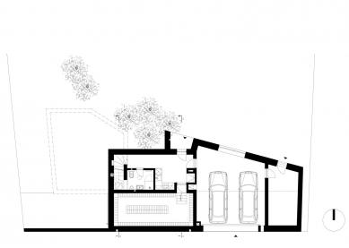 Letní dům s vinotékou - 1. NP