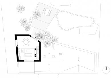 Letní dům s vinotékou - 2. NP