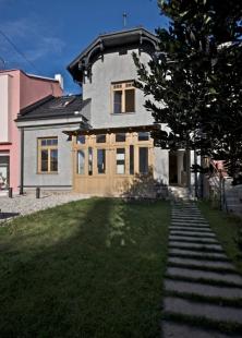 Rekonstrukce vilky na ulici Květná v Brně - foto: Karin Zadrick